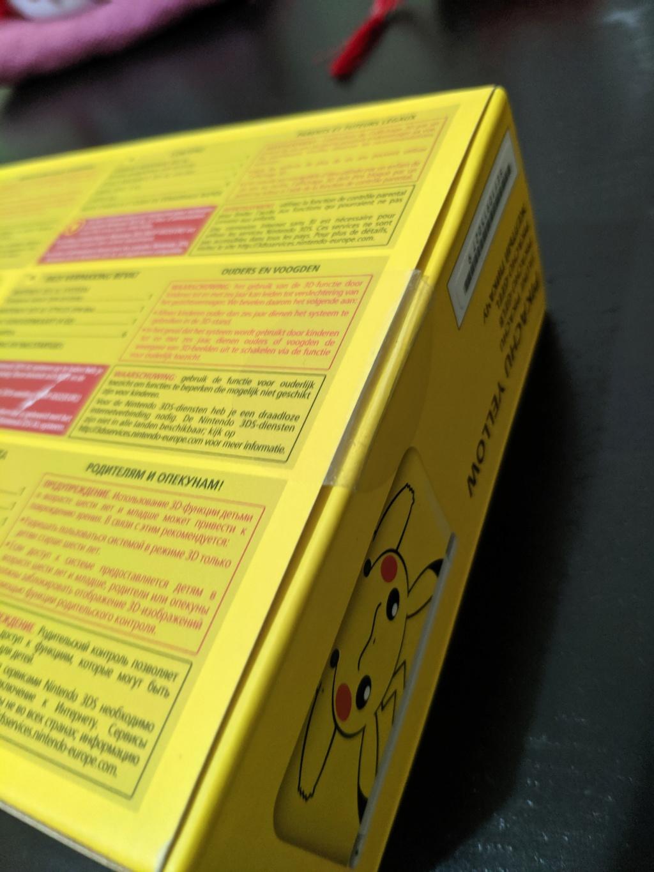 Vend 3ds pikachu neuf Img_2030