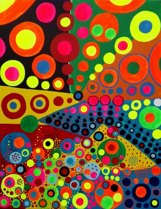 El Puntillismo Abstracto de Gabino Amaya Cacho 52890511