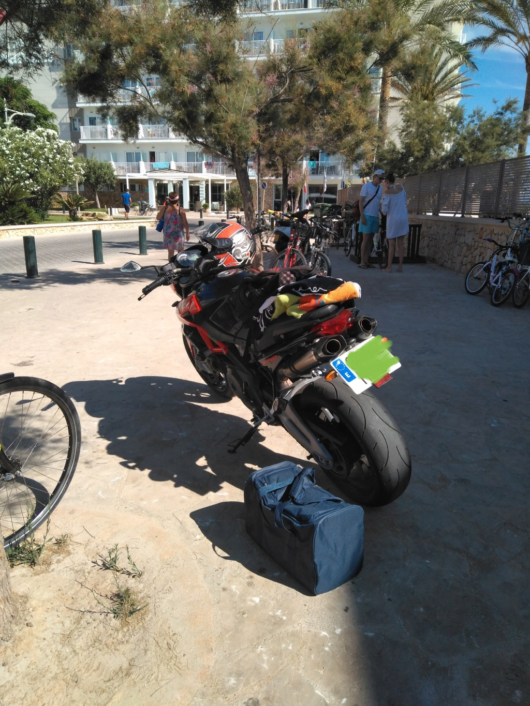 Vengo a presentar mi moto y os dejo una pregunta. :D 20180711