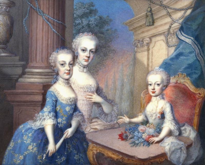 Portrait de Marie-Antoinette ou de sa soeur, Marie-Josèphe, par Antonio Pencini ou Bencini ?  12_nzb10