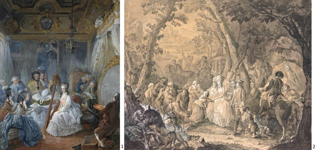 Portraits de Marie-Antoinette attribués aux Gautier Dagoty (ou d'après). - Page 3 155_le10