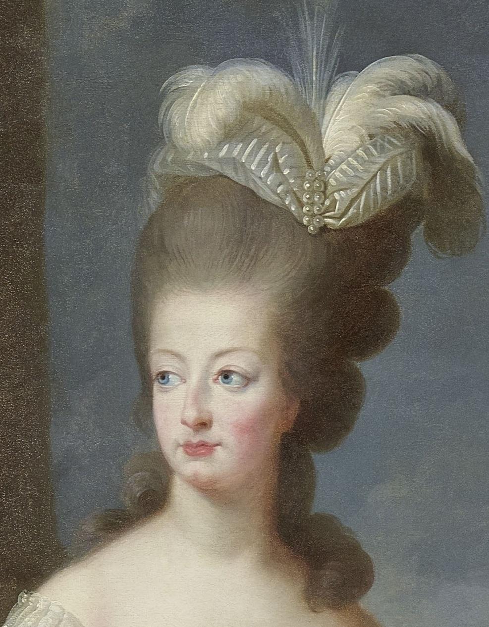 Marie-Antoinette en buste par et d'après Mme Vigée-Lebrun (1778) 179_rm10
