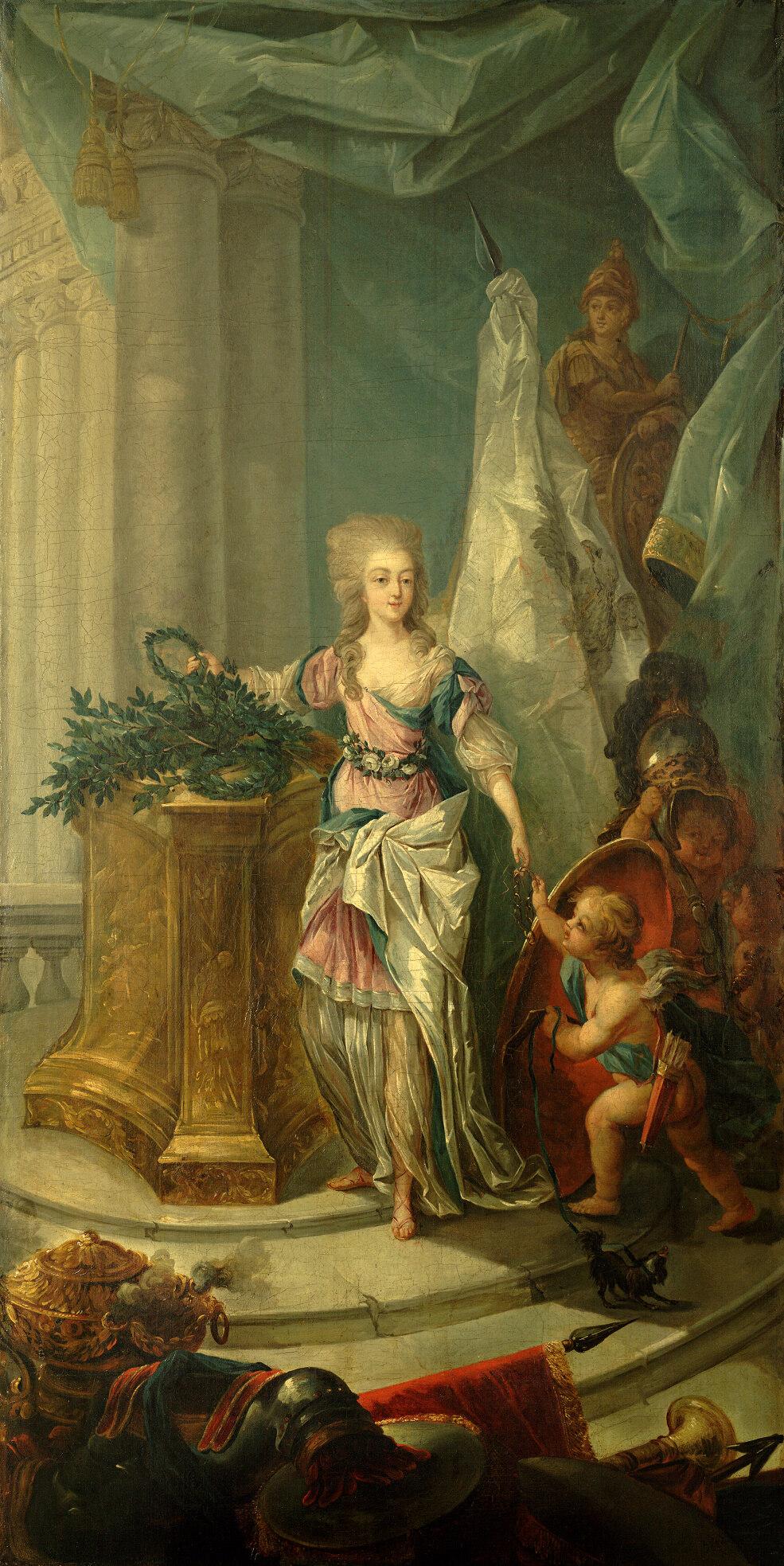 Portraits de Marie-Antoinette attribués aux Gautier Dagoty (ou d'après). - Page 3 190b_a10