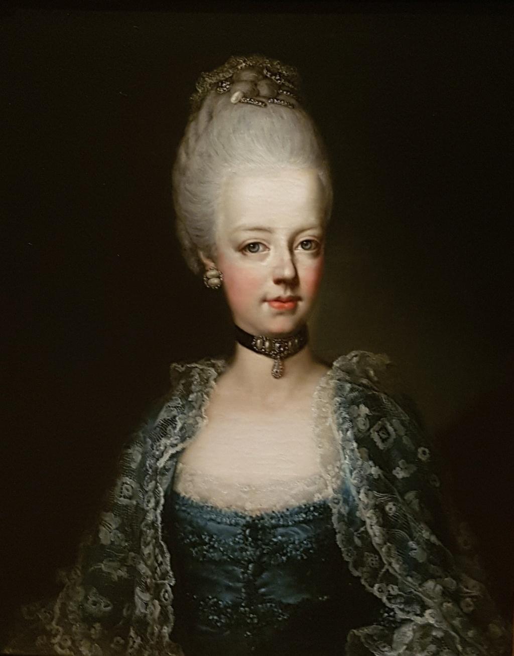 Portrait de Marie-Antoinette ou de sa soeur, Marie-Josèphe, par Antonio Pencini ou Bencini ?  20170910