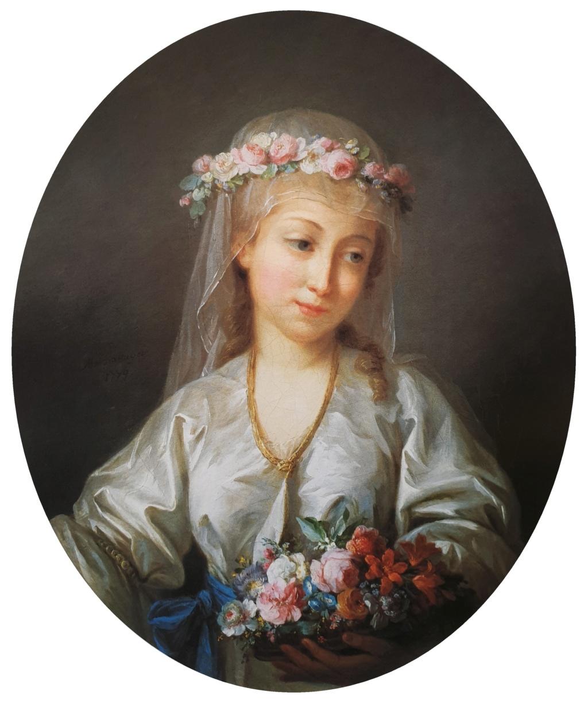 Enquête sur un tableau retrouvé de Marie-Antoinette attribué à Jean-Laurent Mosnier (vers 1776) 20210810