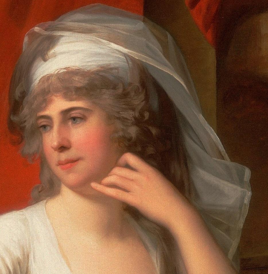 Enquête sur un tableau retrouvé de Marie-Antoinette attribué à Jean-Laurent Mosnier (vers 1776) - Page 3 21044911