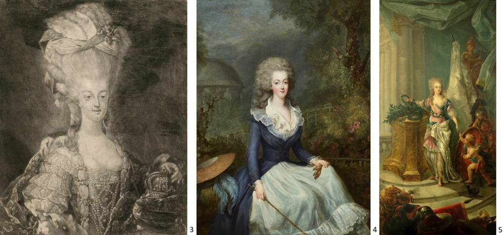 Portraits de Marie-Antoinette attribués aux Gautier Dagoty (ou d'après). - Page 3 233_bn10