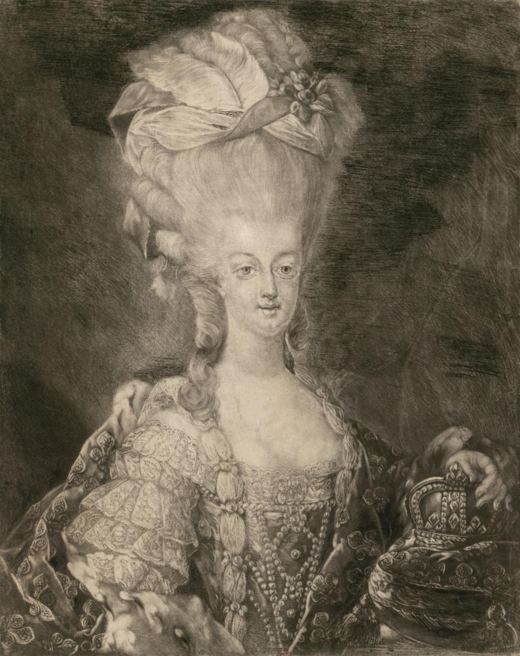 Portraits de Marie-Antoinette attribués aux Gautier Dagoty (ou d'après). - Page 3 233_bn11