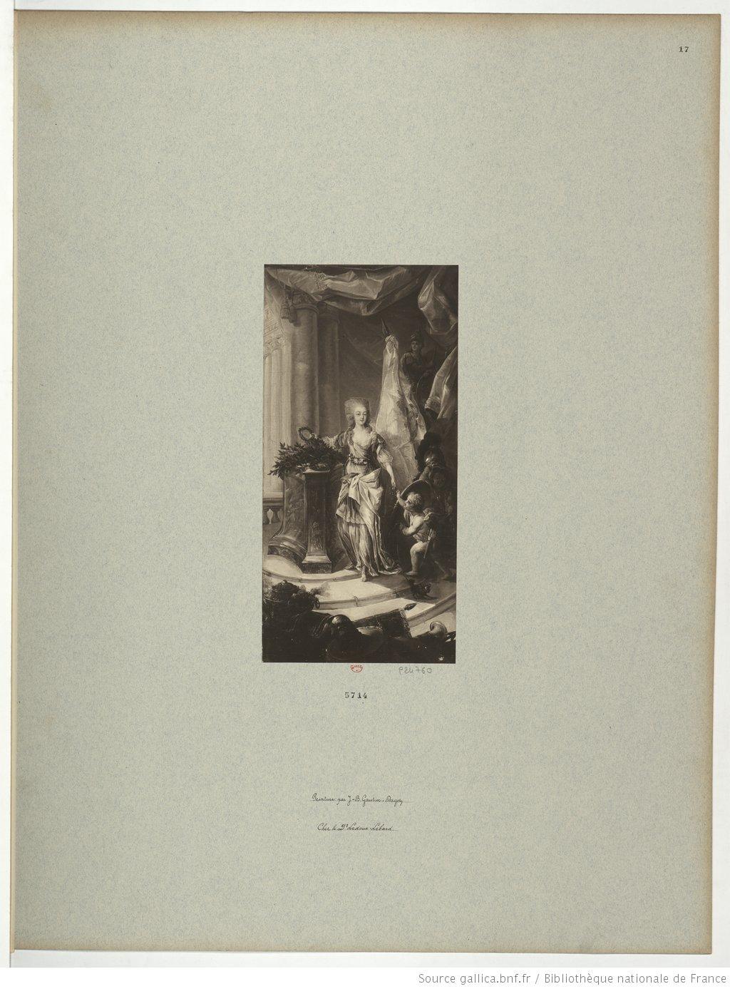 Portraits de Marie-Antoinette attribués aux Gautier Dagoty (ou d'après). - Page 3 5714_n11