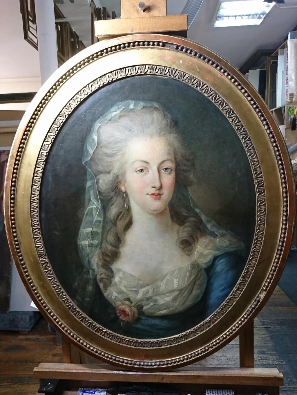 Enquête sur un tableau retrouvé de Marie-Antoinette attribué à Jean-Laurent Mosnier (vers 1776) - Page 3 Carric10