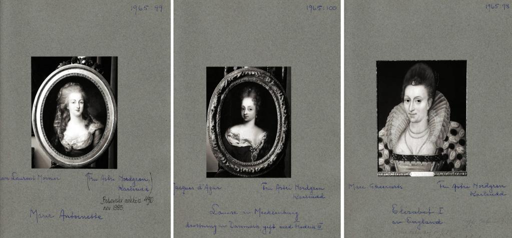Enquête sur un tableau retrouvé de Marie-Antoinette attribué à Jean-Laurent Mosnier (vers 1776) Collec10