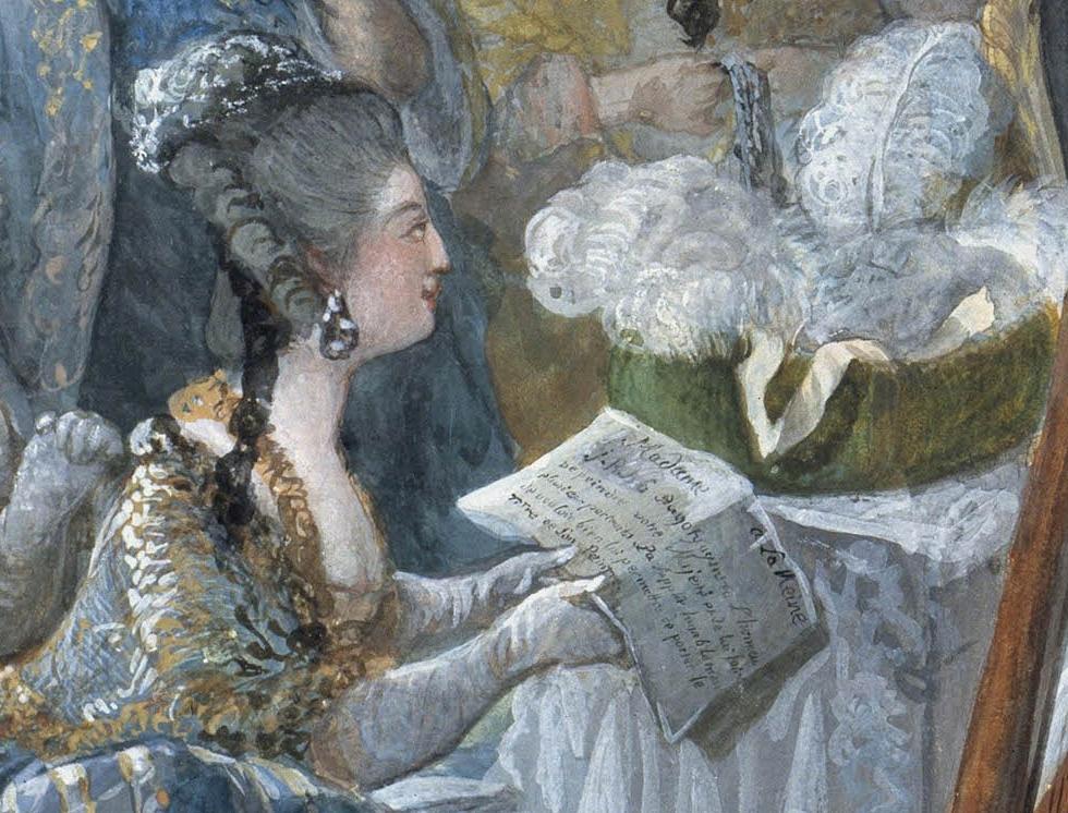 Portraits de Marie-Antoinette attribués aux Gautier Dagoty (ou d'après). - Page 3 Dzotai10