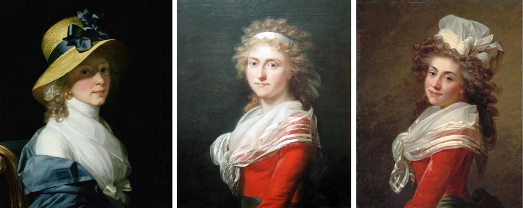 Enquête sur un tableau retrouvé de Marie-Antoinette attribué à Jean-Laurent Mosnier (vers 1776) - Page 3 Elisab10