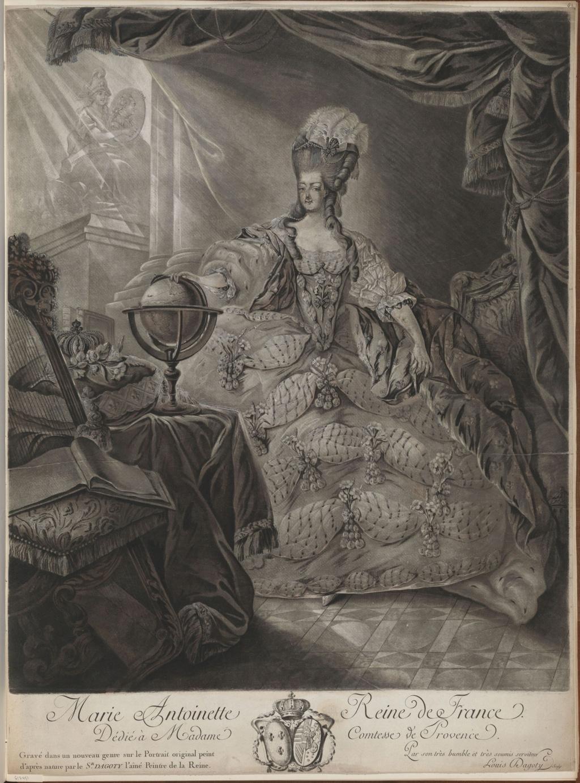 Portraits de Marie-Antoinette attribués aux Gautier Dagoty (ou d'après). - Page 3 Gautie10