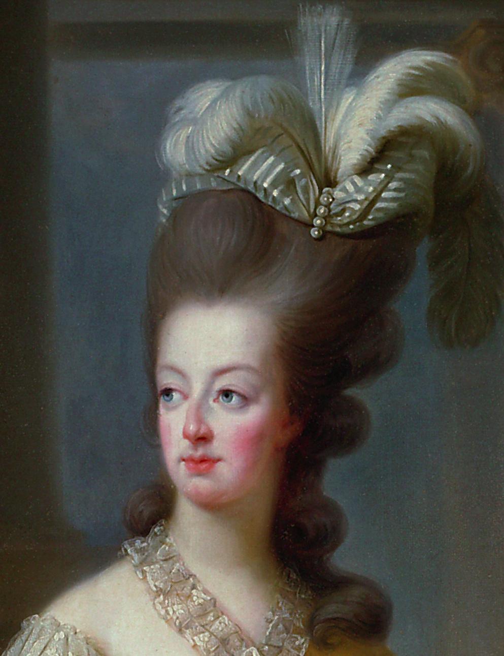 Marie-Antoinette en buste par et d'après Mme Vigée-Lebrun (1778) Gg_27711