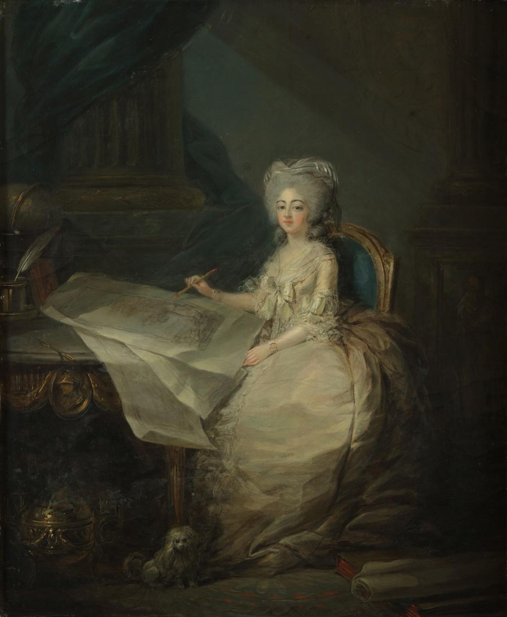 Portraits de Marie-Antoinette et de la famille royale par Charles Le Clercq ou Leclerq - Page 4 Lecler10