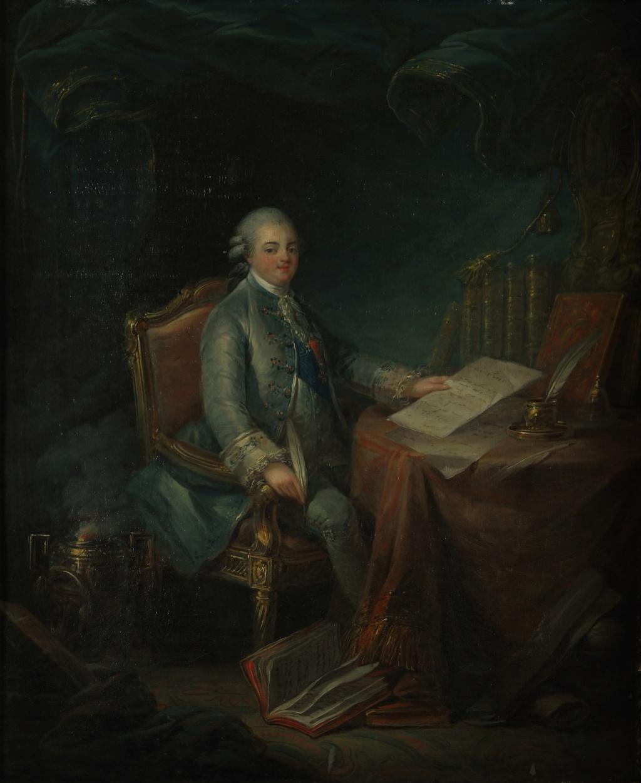 Leclercq - Portraits de Marie-Antoinette et de la famille royale par Charles Le Clercq ou Leclerq - Page 4 Lecteu10