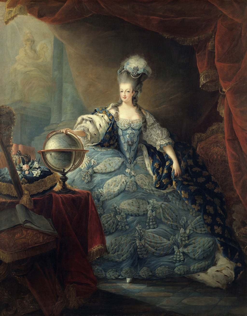 Portraits de Marie-Antoinette attribués aux Gautier Dagoty (ou d'après). - Page 3 Leemag10