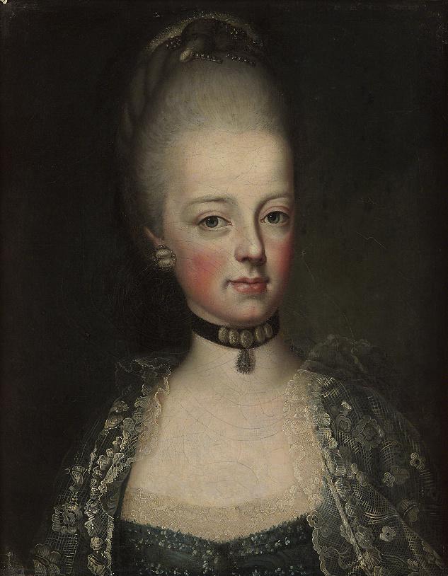Portrait de Marie-Antoinette ou de Marie-Josèphe, par Meytens ? - Page 6 Marie-15