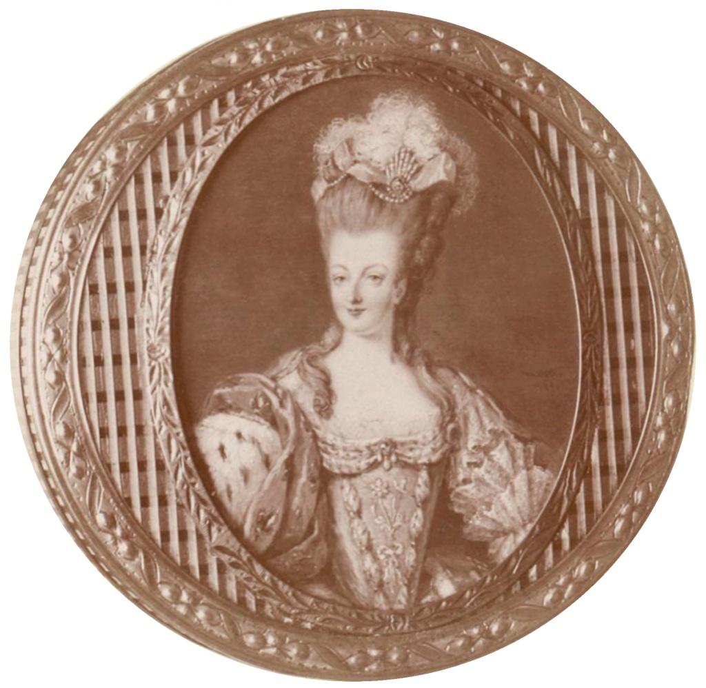 Portraits de Marie-Antoinette attribués aux Gautier Dagoty (ou d'après). - Page 3 Marie-16