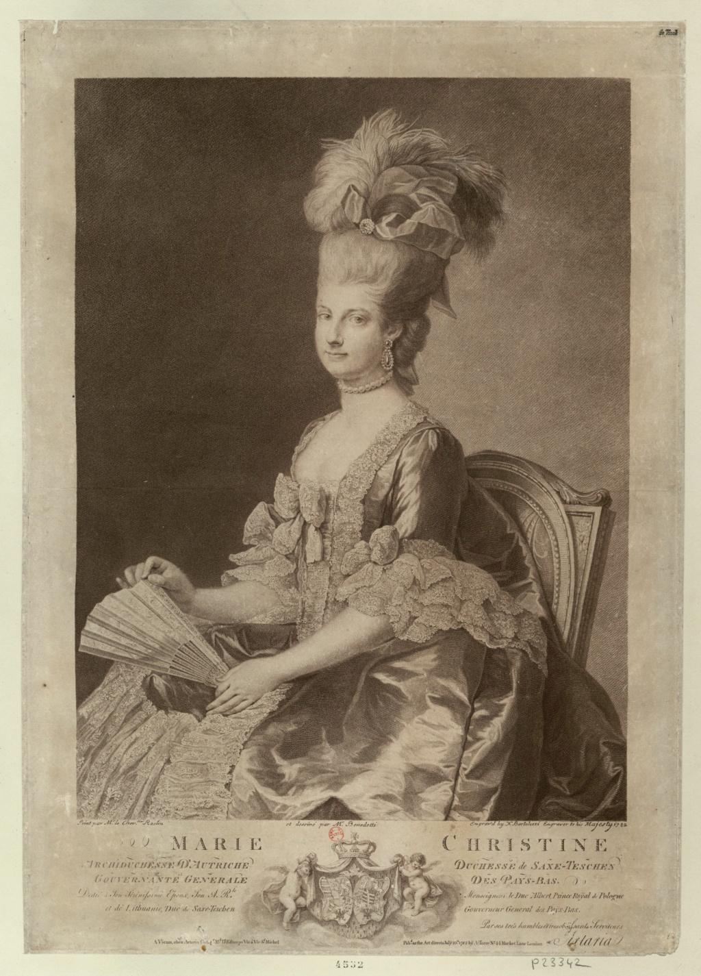 Enquête sur un tableau retrouvé de Marie-Antoinette attribué à Jean-Laurent Mosnier (vers 1776) Marie-17