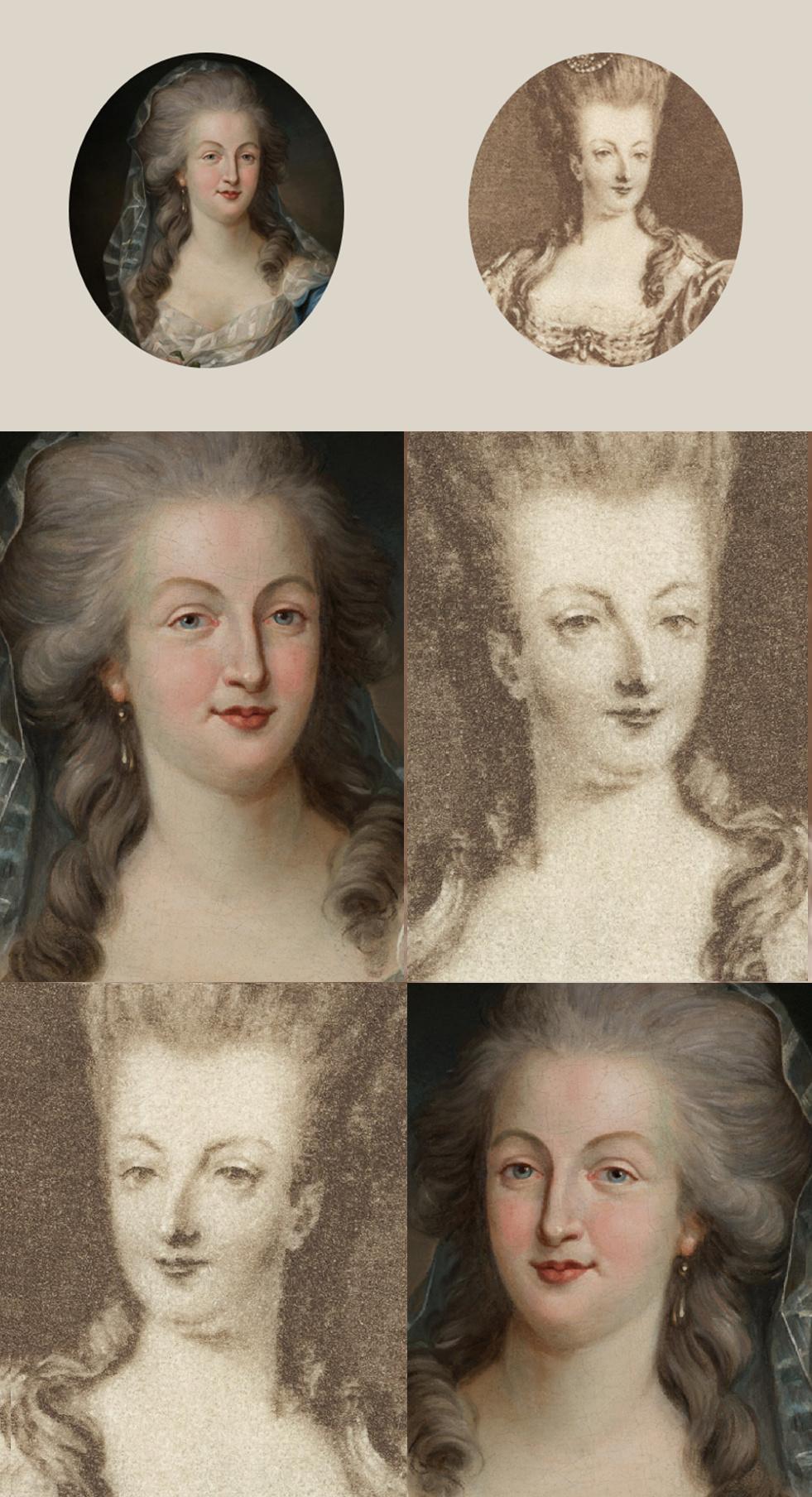 Enquête sur un tableau retrouvé de Marie-Antoinette attribué à Jean-Laurent Mosnier (vers 1776) - Page 3 Montag13