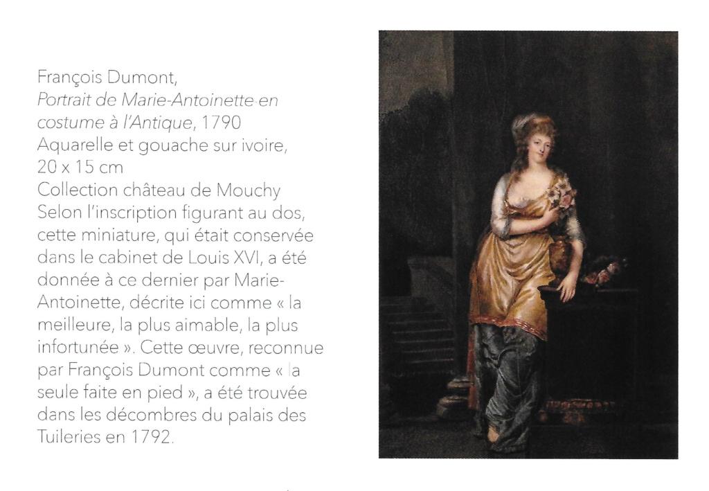 """Exposition """" Vivre à l'antique, de Marie-Antoinette à Napoléon Ier """" - Château de Rambouillet Scan12"""