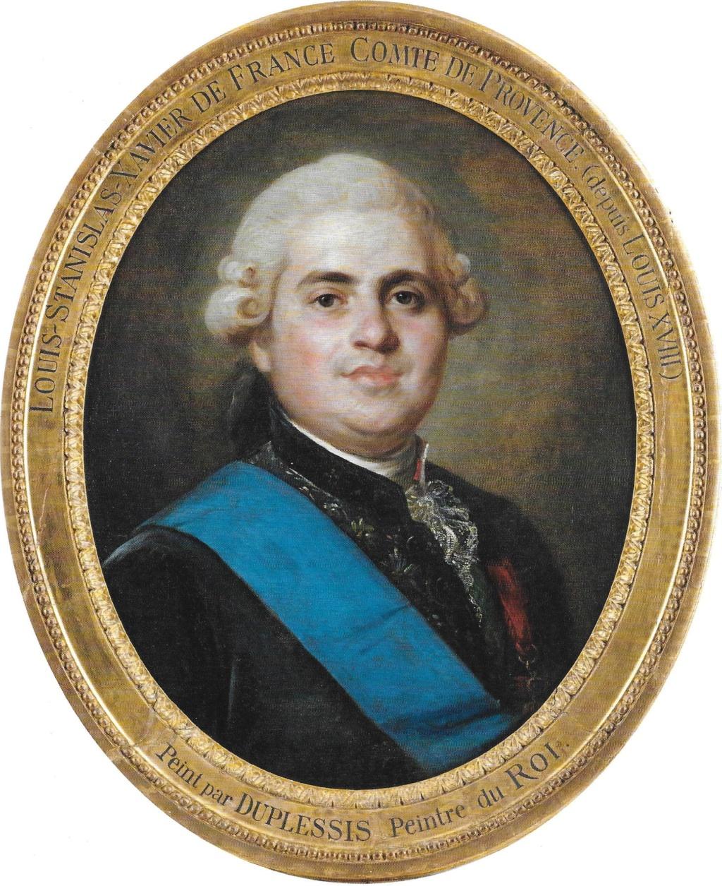 Louis-Stanislas, comte de Provence, et futur roi Louis XVIII - Page 9 Scatre10