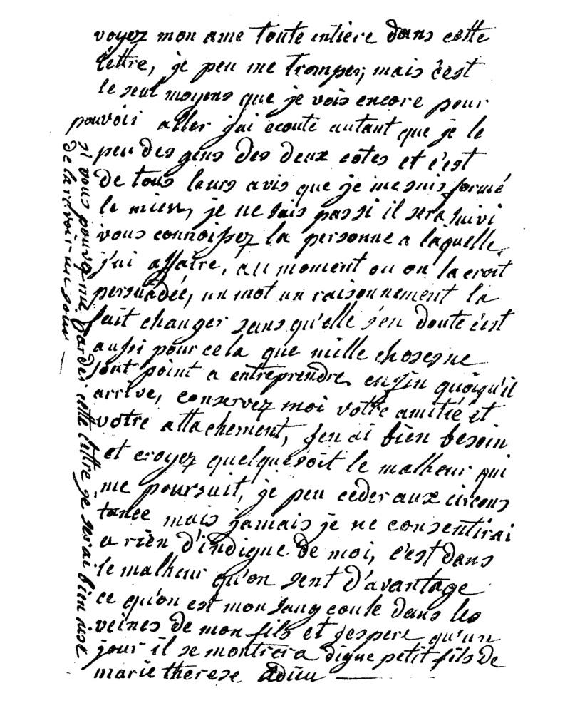 Marie-Antoinette - Lettres inédites. De Catriona Seth Seth_310