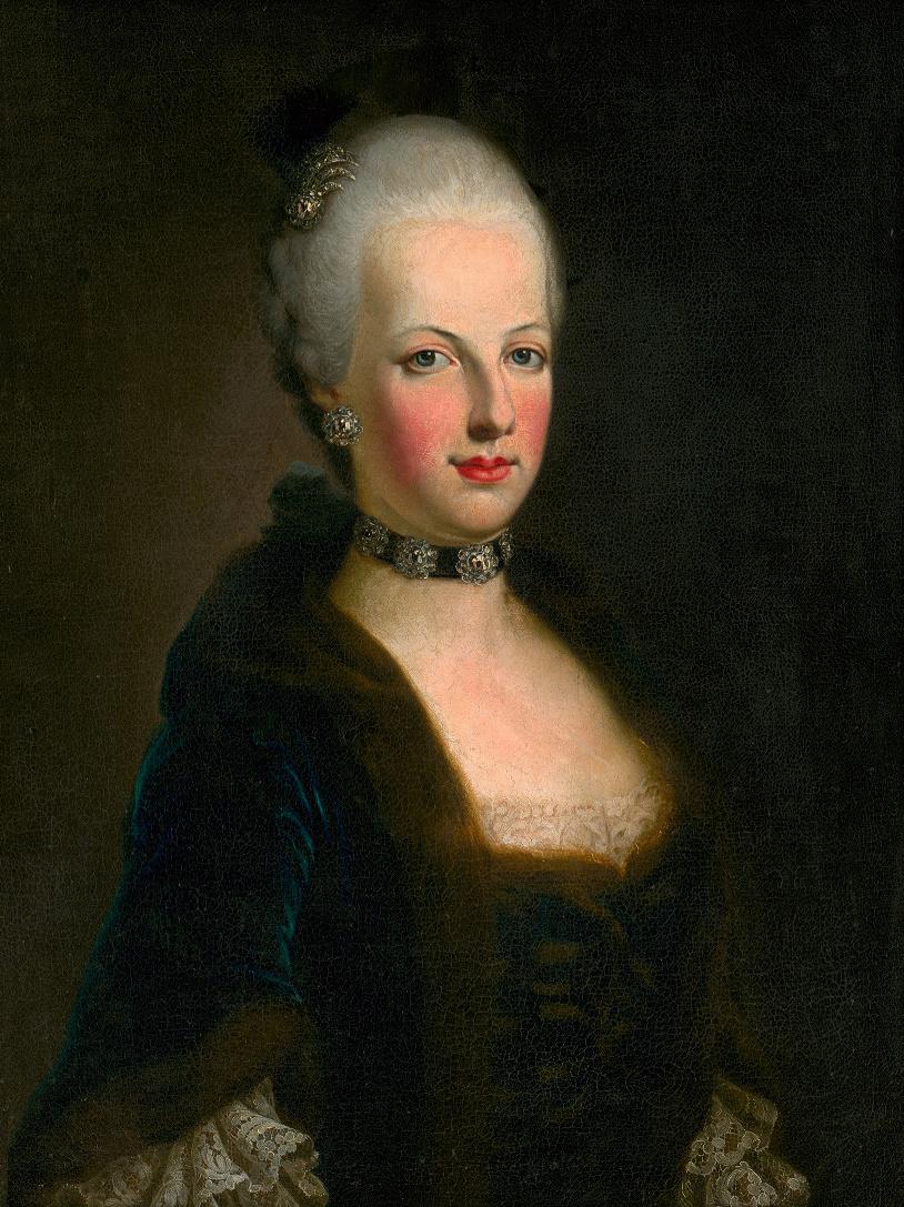 Marie-Antoinette portrait par J.E.  Liotard ?  Svzito12