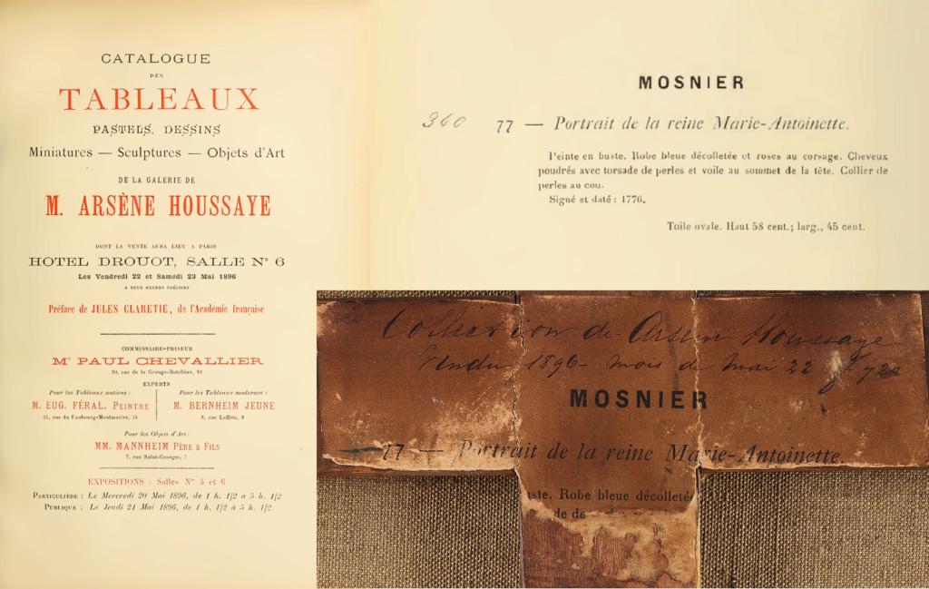 Enquête sur un tableau retrouvé de Marie-Antoinette attribué à Jean-Laurent Mosnier (vers 1776) Vente_10
