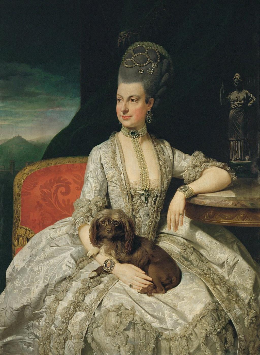 Enquête sur un tableau retrouvé de Marie-Antoinette attribué à Jean-Laurent Mosnier (vers 1776) Zoffan10