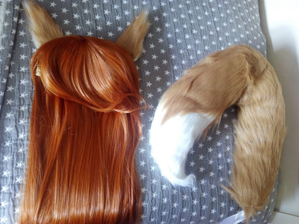 [MAKING OFF] Horo_Spice and Wolf Peluca12