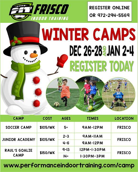 PIT - FRISCO WINTER CAMP Winter14