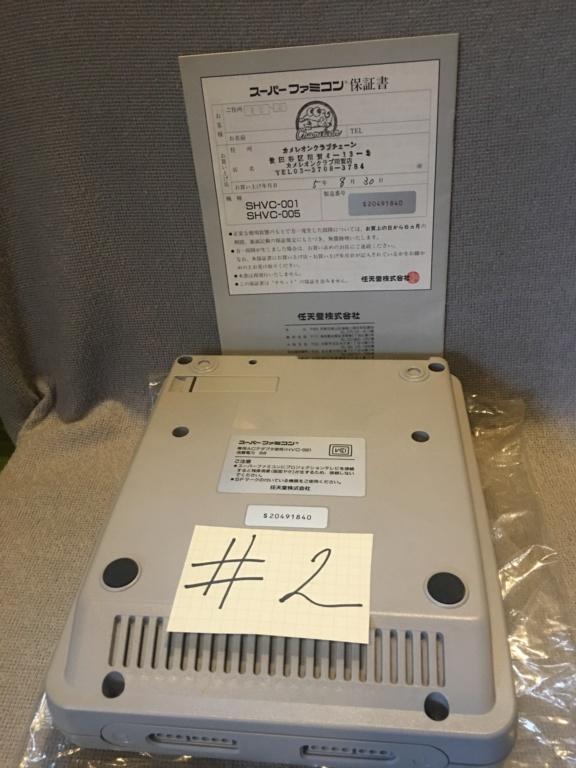 """[VDS]Lot de deux SFC sous boite """"mint"""" 970bee10"""