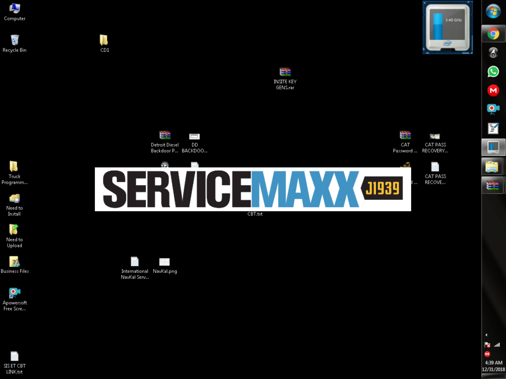 International Navkal 2018 Offline, ServiceMaxxPro W/ Maxforce 11/13 DPF Delete Files Servic10
