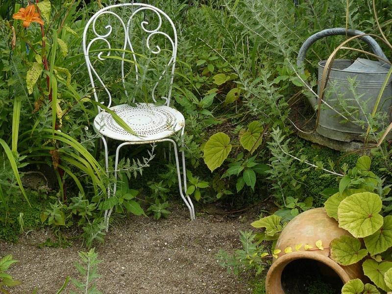Le jardin c'est la santé, rien faire c'est la conserver  : hamacs et autres chaises longues  Berang14