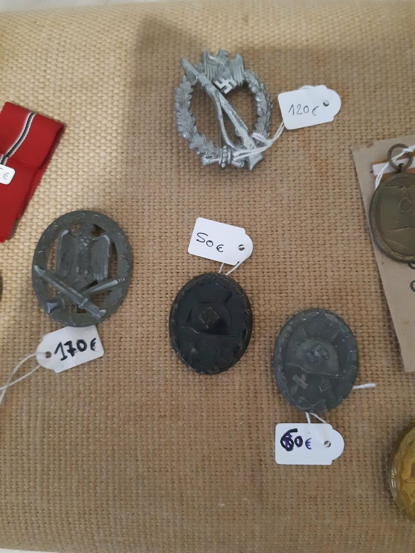 Différents badges Allemands à (essayer d') identifier... 051dbd10