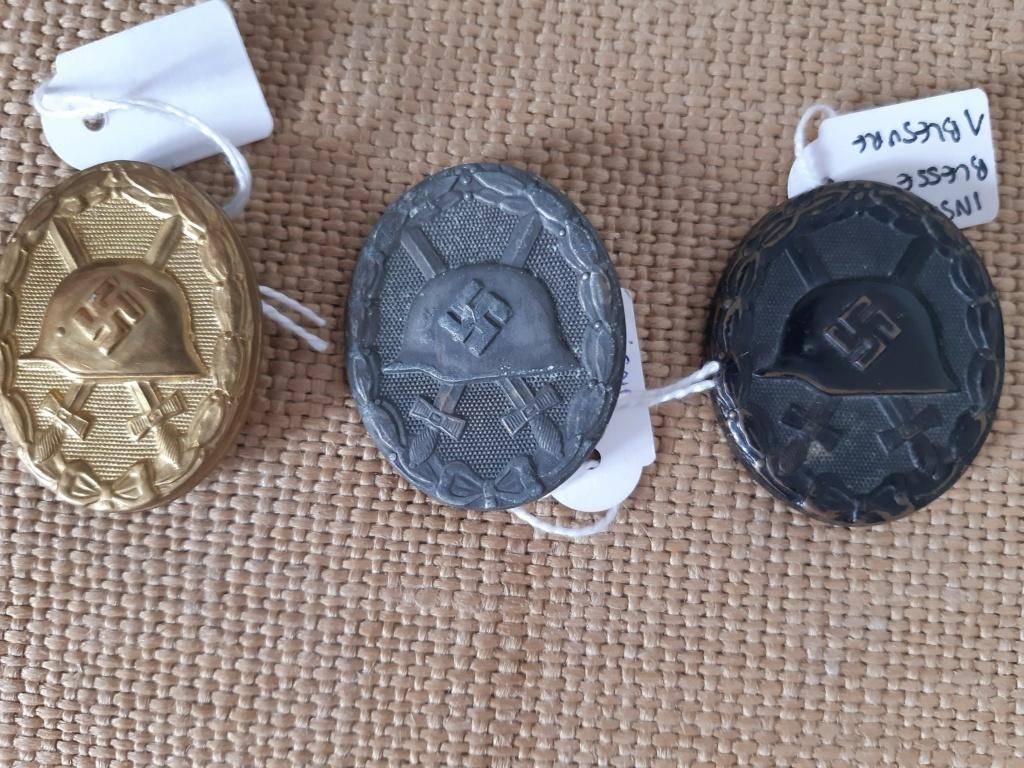 Différents badges Allemands à (essayer d') identifier... Vaa11