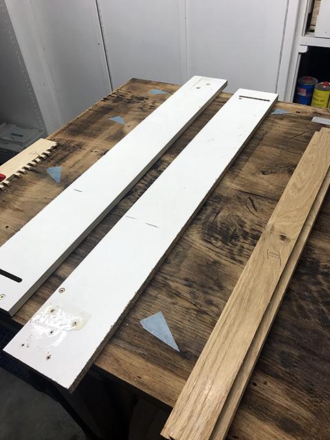 [Récup et fabrication] Une table copiée sur Ishitani 2710