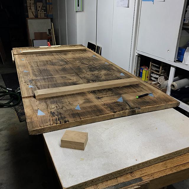 [Récup et fabrication] Une table copiée sur Ishitani 3210