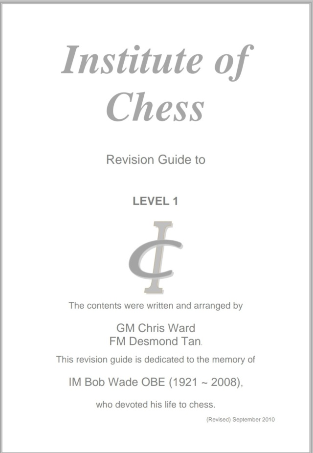 INSTITUTE OF CHESS BY GM CHRIS WARD (5 levels) Screen14
