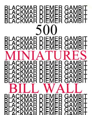 500 MINIATURE SERIES BY BILL WALL Screen39