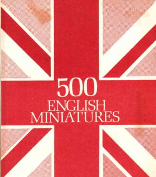 500 MINIATURE SERIES BY BILL WALL Screen40