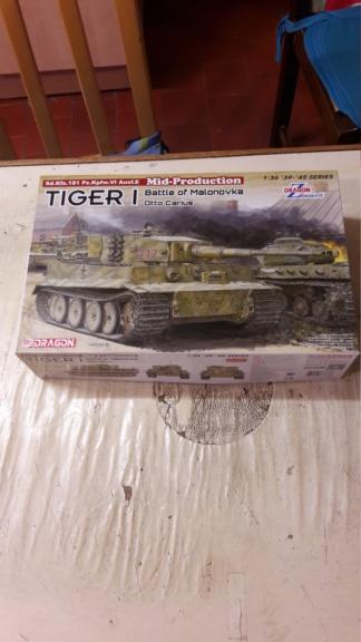 Tigre I dragon 1/35 Otto Carius 20191219