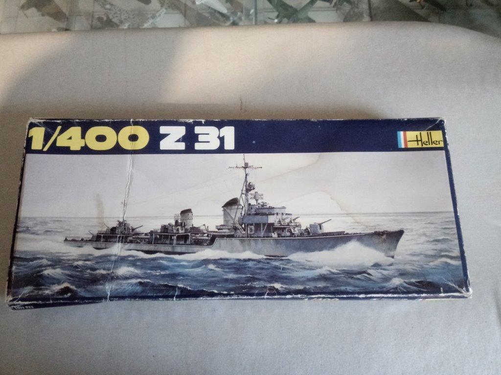 Destroyer Z 31 1/400ème Réf 1048 Img_2052