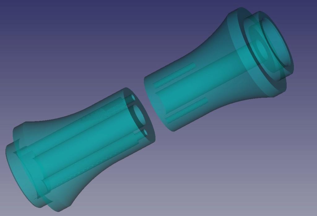 Cape SAF basculante impression 3D Axe00510