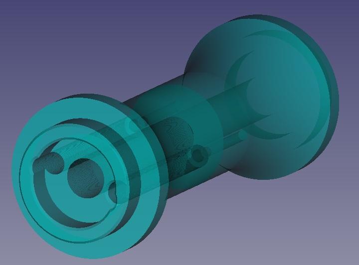 Cape SAF basculante impression 3D Axe00710