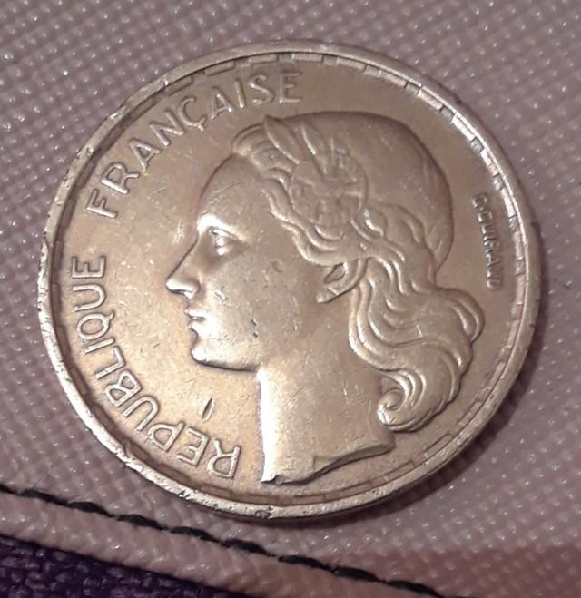 50 francos franceses 1958   20190212