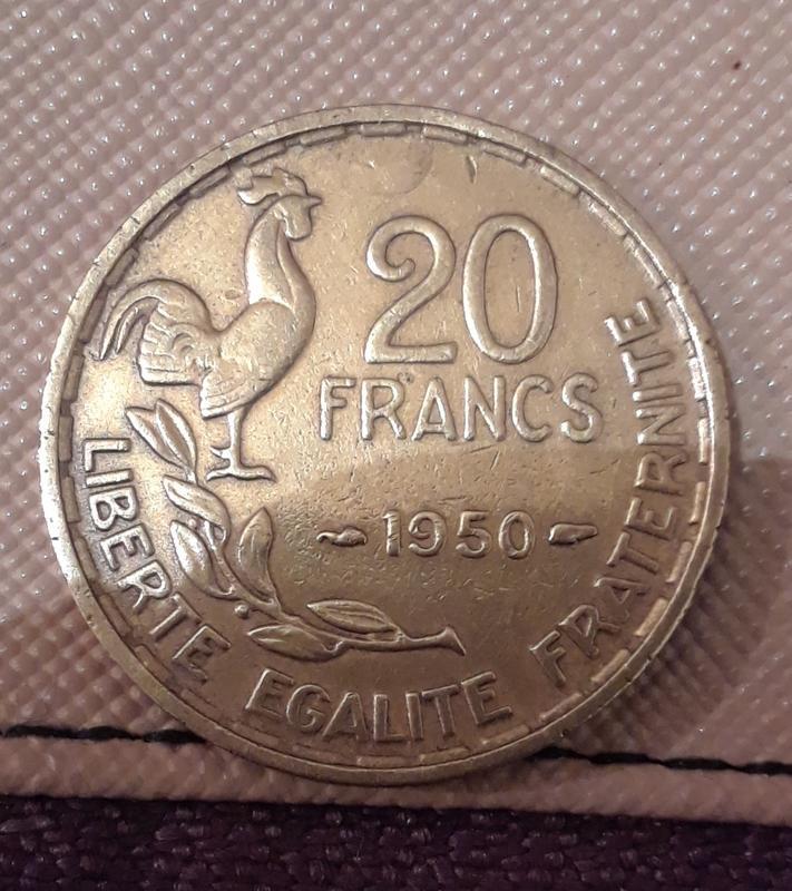 50 francos franceses 1958   20190213